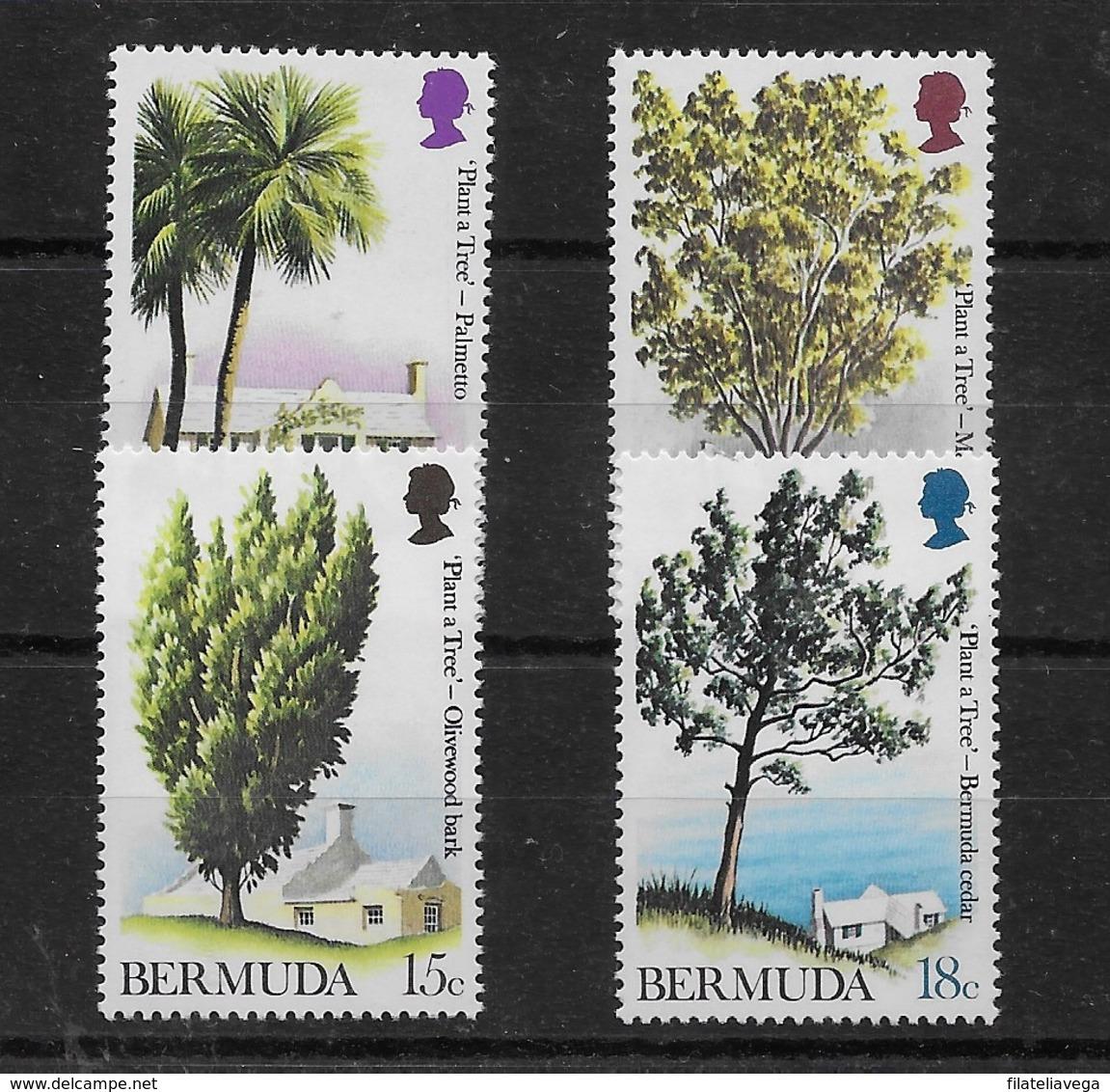 Serie De Bermuda Nº Yvert 286/89 ** - Bermudas