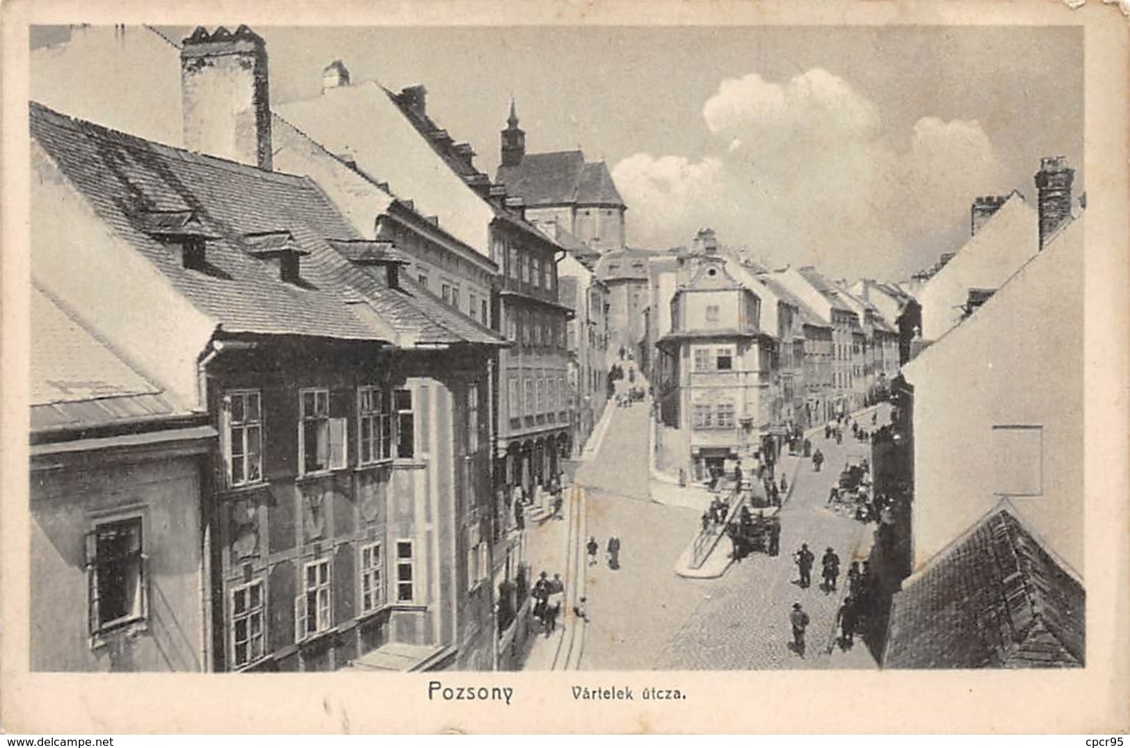 Slovaquie - N°61334 - POZZONY - Vartelek Utcza - Slovacchia