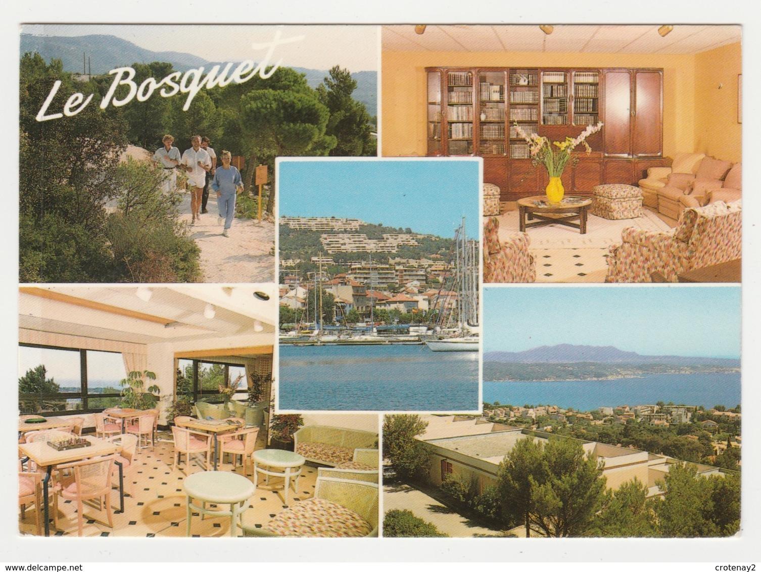 83 Bandol N°88 1 Résidence Le Bosquet Chemin De L'Escouche En 1989 Table Avec Echiquier Jeu D'échecs Bibliothèque - Bandol