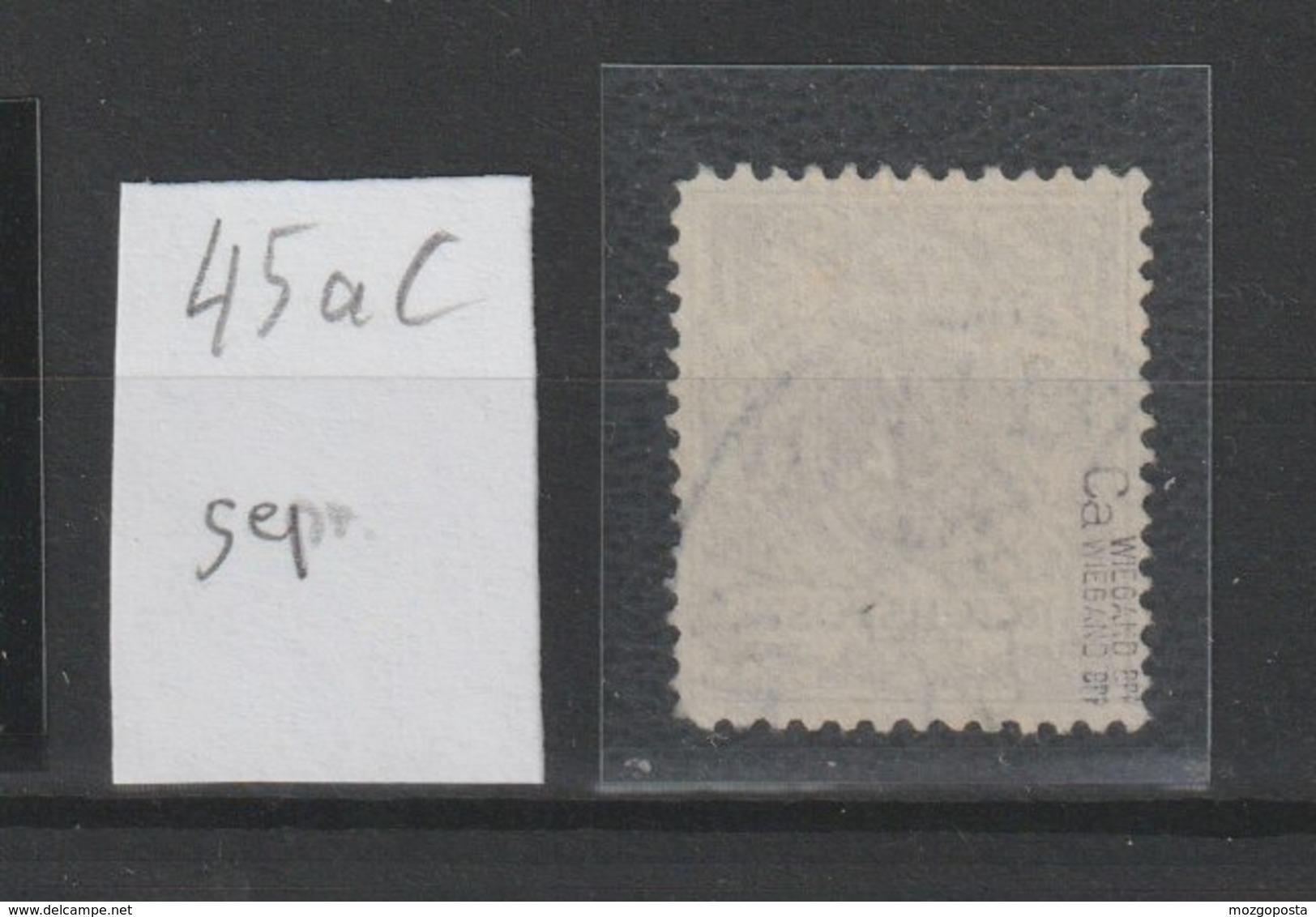 DR MNr. 45 AC Gest. Doppelt Geprüft - Usados