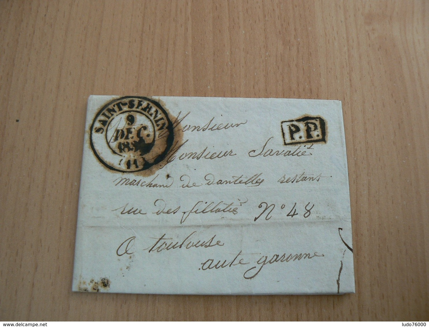 CP 106 / LETTRE MARQUE POSTALE - France