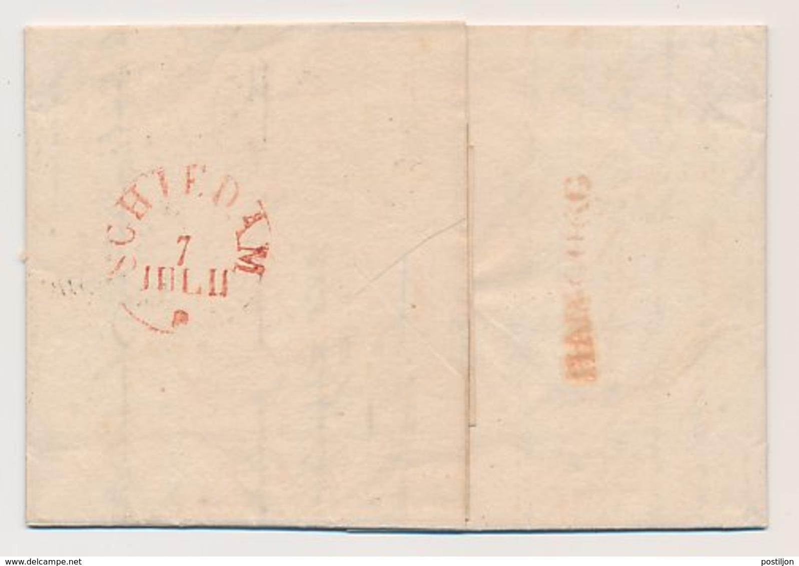 Rostock Duitsland - Schiedam 1832 - Hamburg ( Deventer ) - ...-1852 Vorläufer