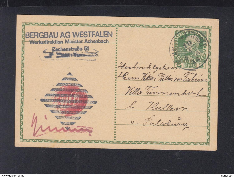 KuK GSK Attersee Bergbau AG Westfalen - 1850-1918 Imperium
