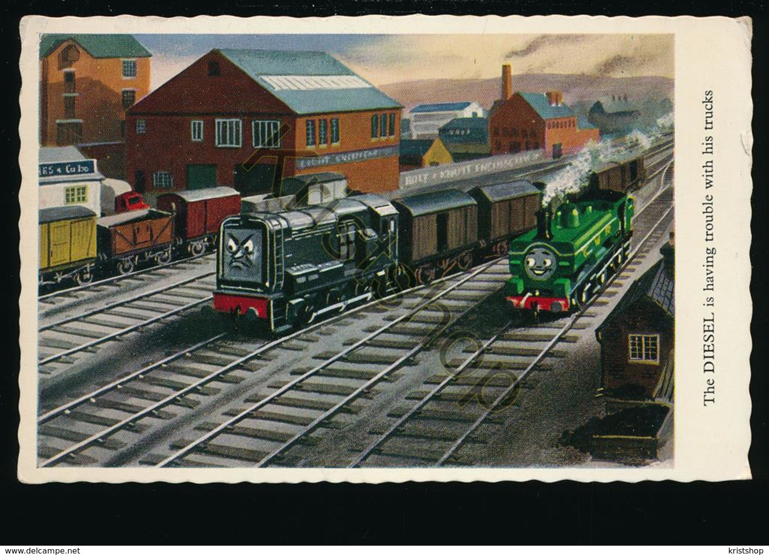 Bromley & Beckenham - The Diesel (train) [AA31 6.195 - Sin Clasificación