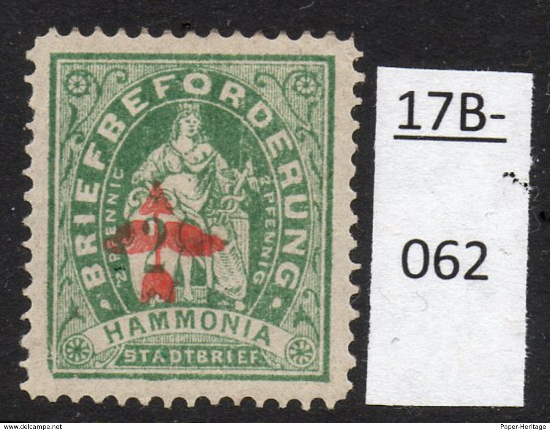 Germany Deutschland Privatpost Local Post Stadtpost : Chemnitz. Mi. A. 18 II MH. - Private