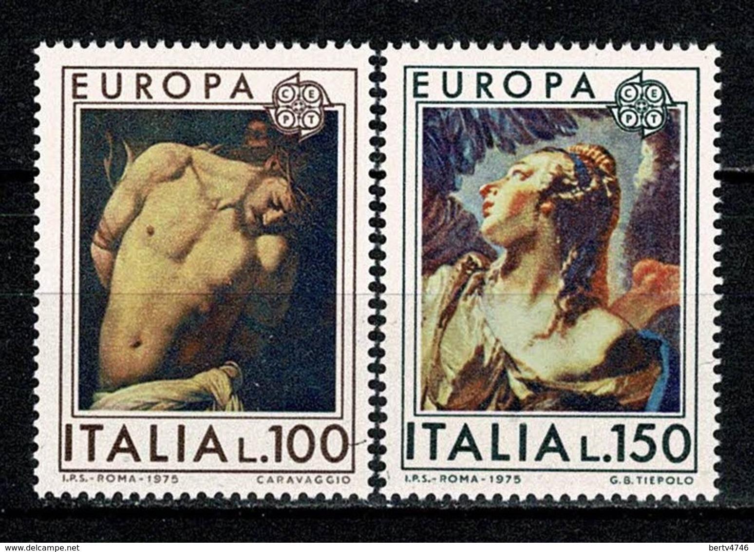 Italia 1975 EUROPA Yv. 1222/23**,  MNH - 6. 1946-.. República