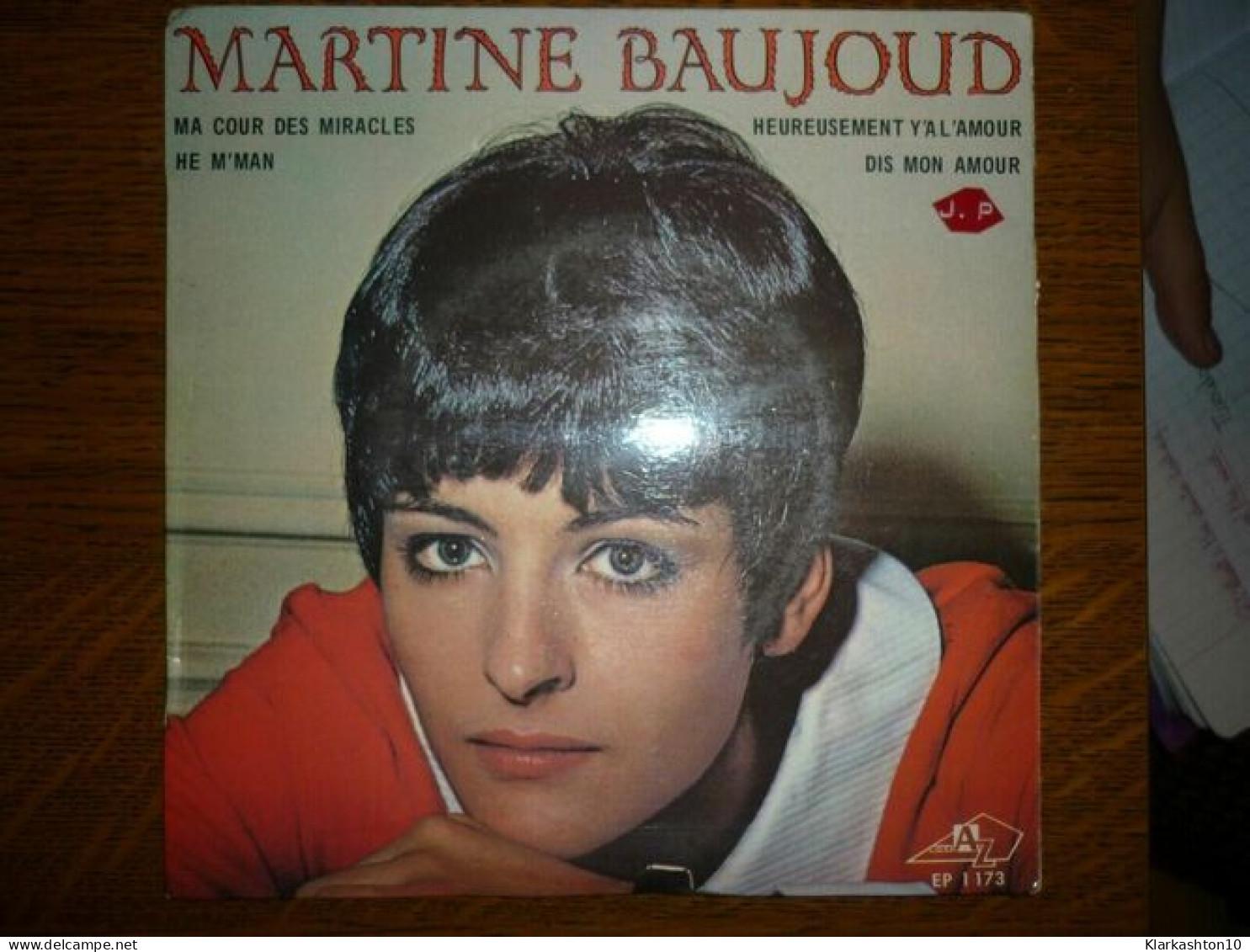 Martine Baujoud: Ma Cour Des Miracles-He M'ma +2/ 45t Disc'AZ EP 1173 - Vinyl-Schallplatten