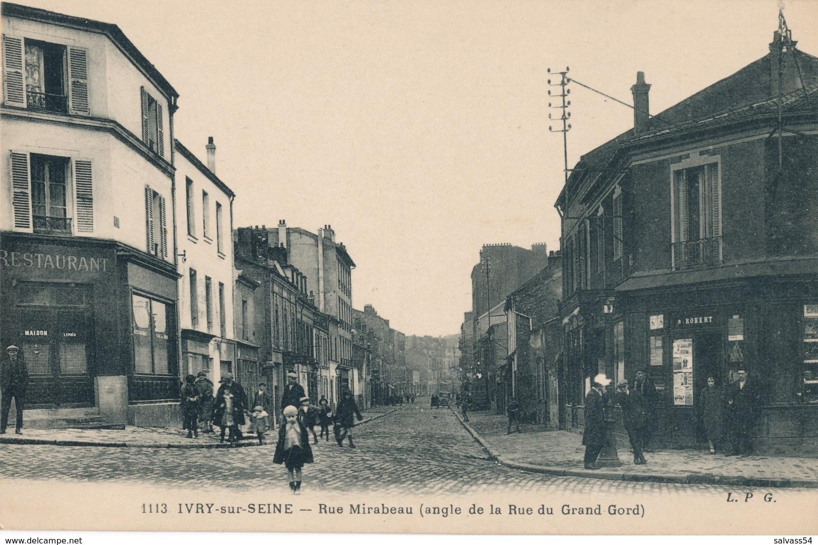 94) IVRY-SUR-SEINE - Rue Mirabeau - Ivry Sur Seine