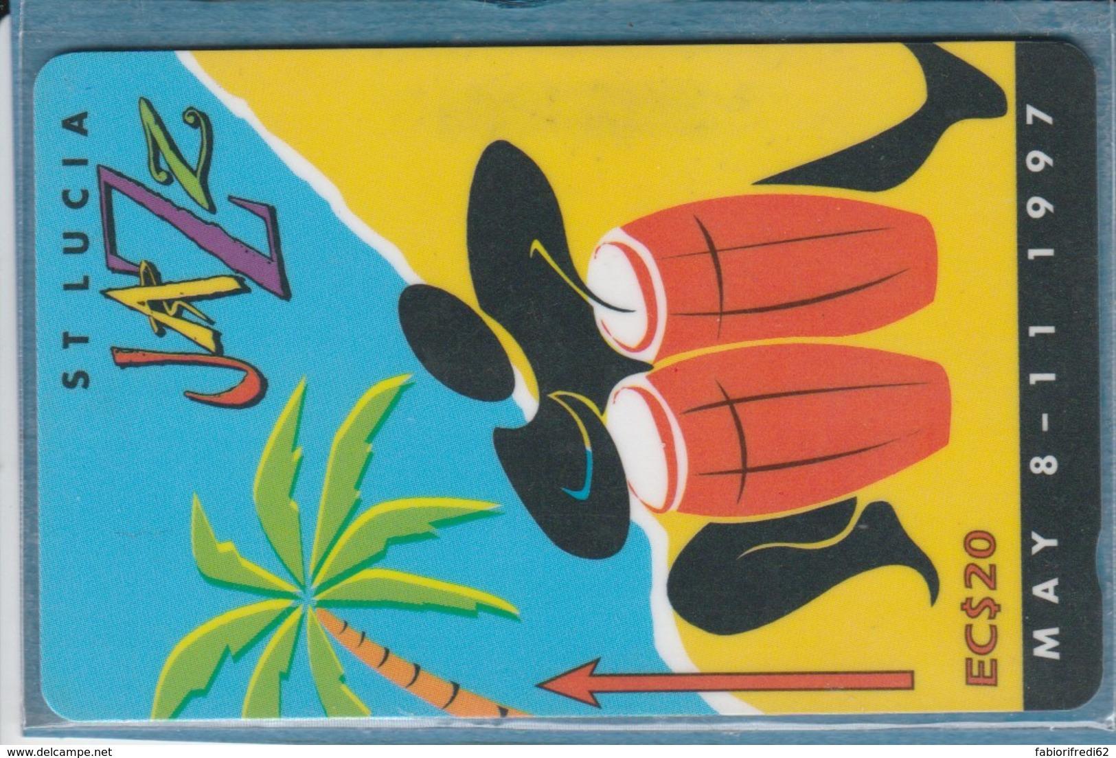 PHONE CARD-ST.LUCIA (E48.2.1 - Santa Lucía
