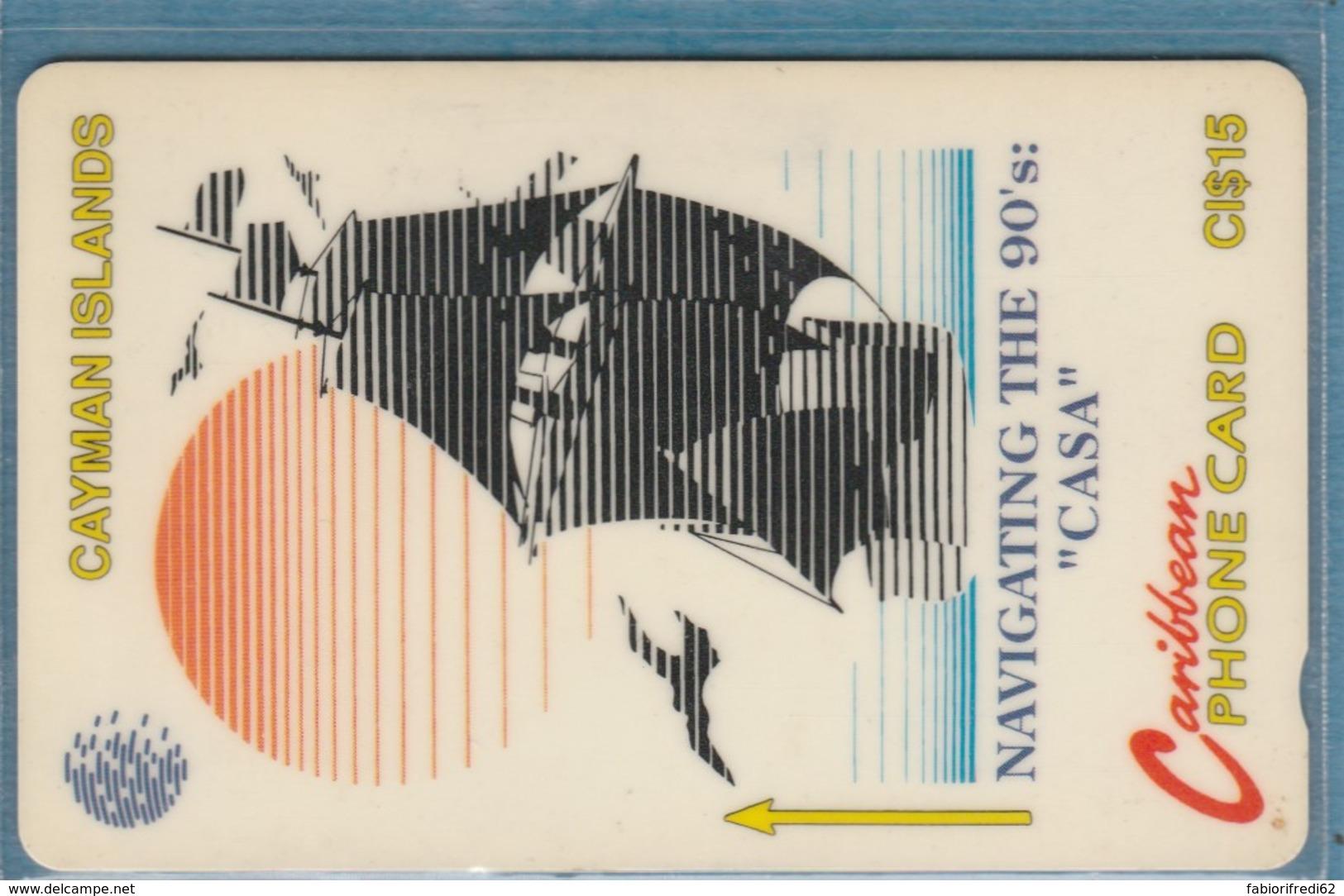 PHONE CARD-CAYMAN (E48.3.5 - Isole Caiman