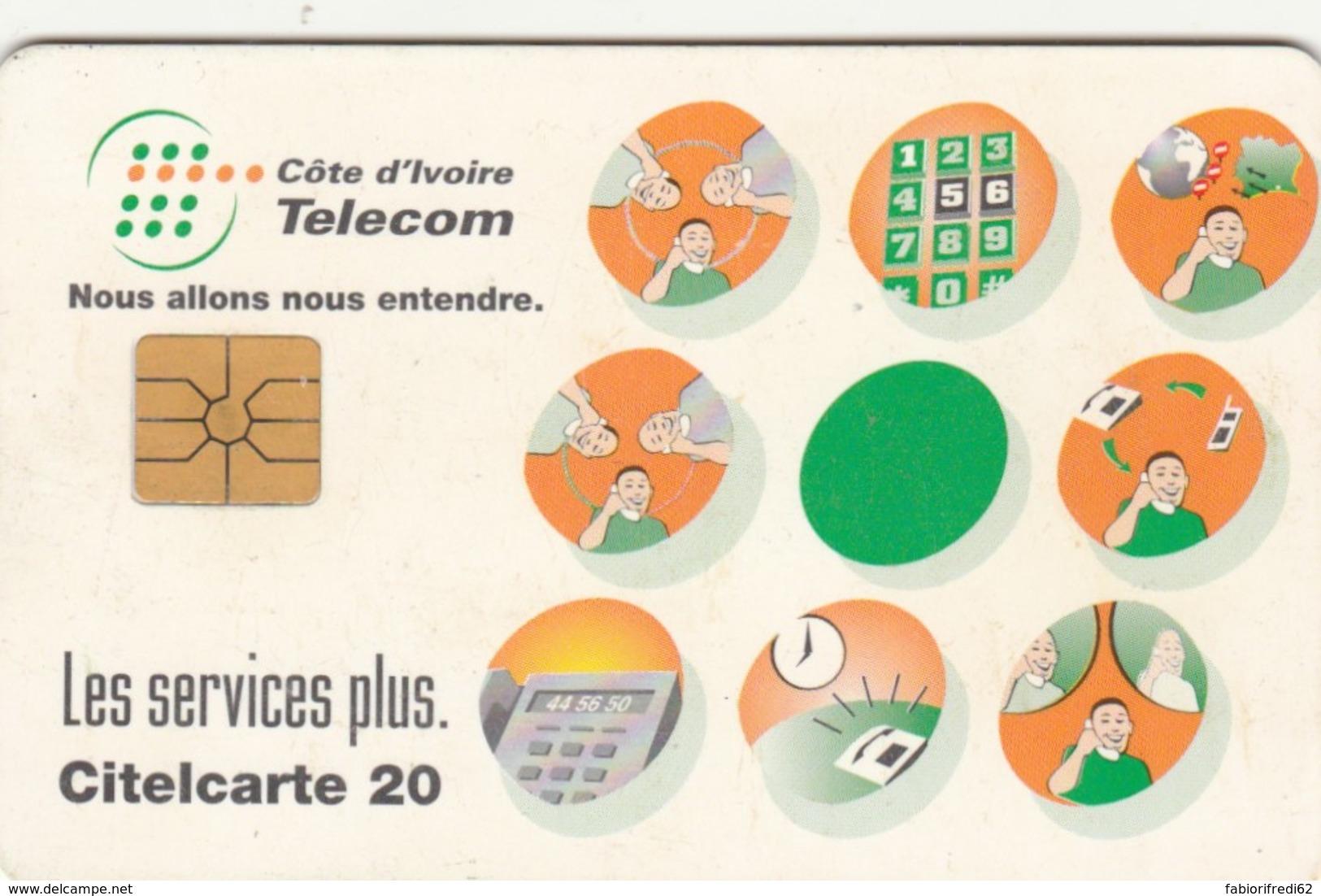 PHONE CARD-COSTA D'AVORIO (E48.7.6 - Costa D'Avorio