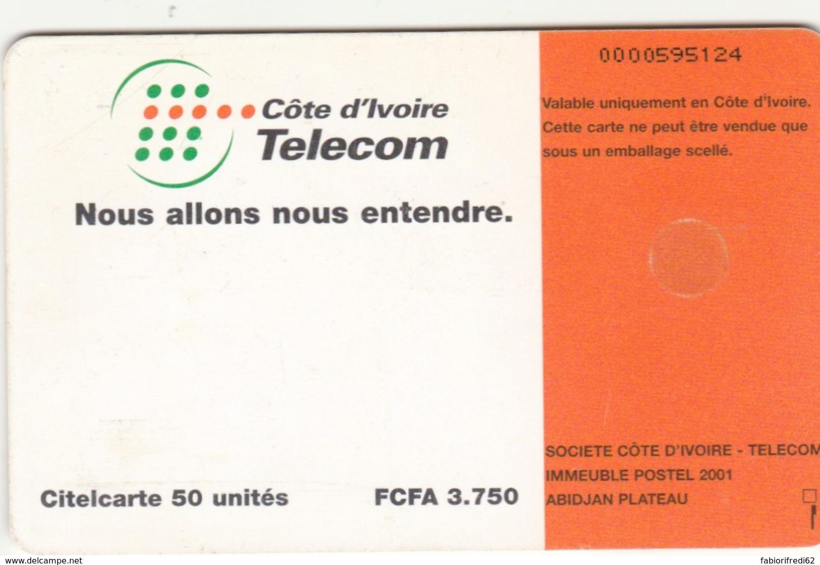 PHONE CARD-COSTA D'AVORIO (E48.13.6 - Costa D'Avorio