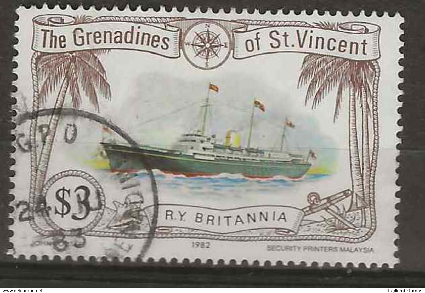 St Vincent Grenadines, 1982, SG 222, Used - St.Vincent & Grenadines
