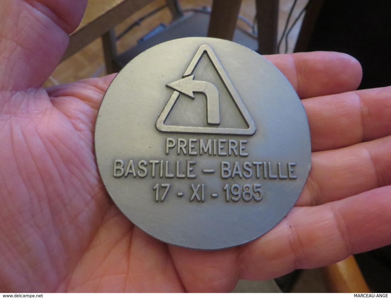 """MEDAILLE """""""" Premiere BASTILLE-BASTILLE 1985 """""""""""", Voir Les Photos - France"""