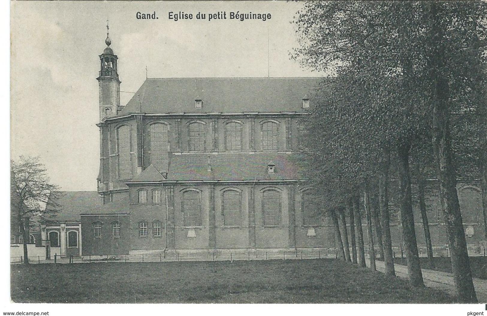 17 Gent Gand Kerk Klein Begijnhof Met Reclame Nagel & Esders.  Perfecte Staat. Zie Scans - Gent