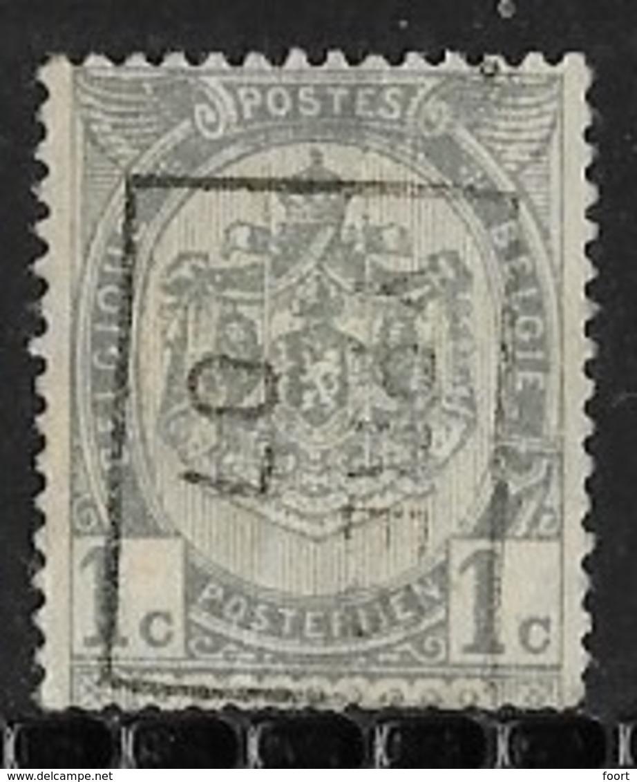 Ypres 1907 Nr. 902Bzz - Precancels
