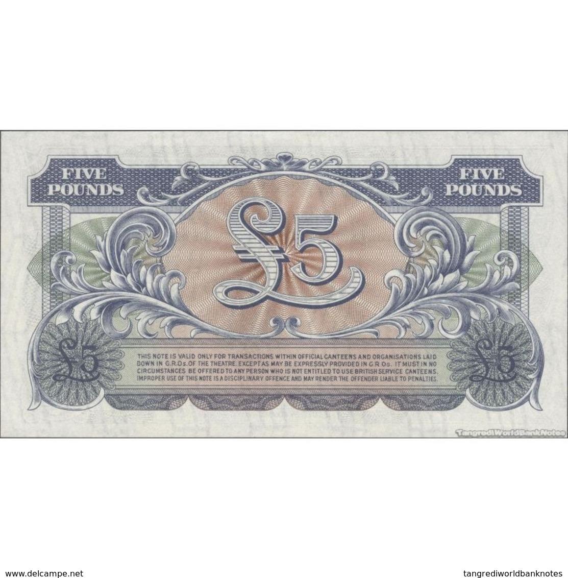 TWN - GREAT BRITAIN M23 - 5 Pounds 1948 Prefix EE/1 - 2nd Series UNC - Altri – Europa