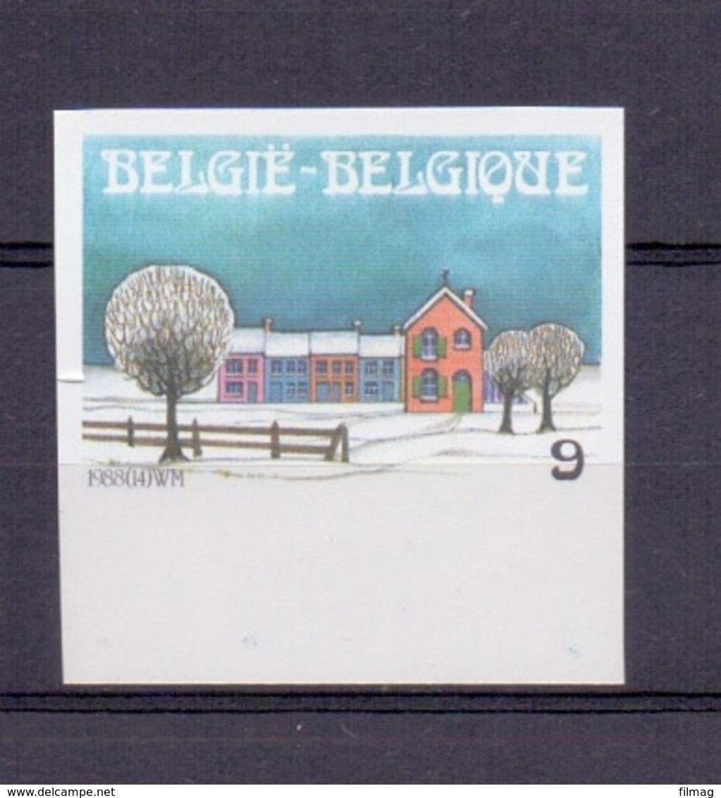 2307 Kerstmis Ongetand Postfris** 1988 - Belgique