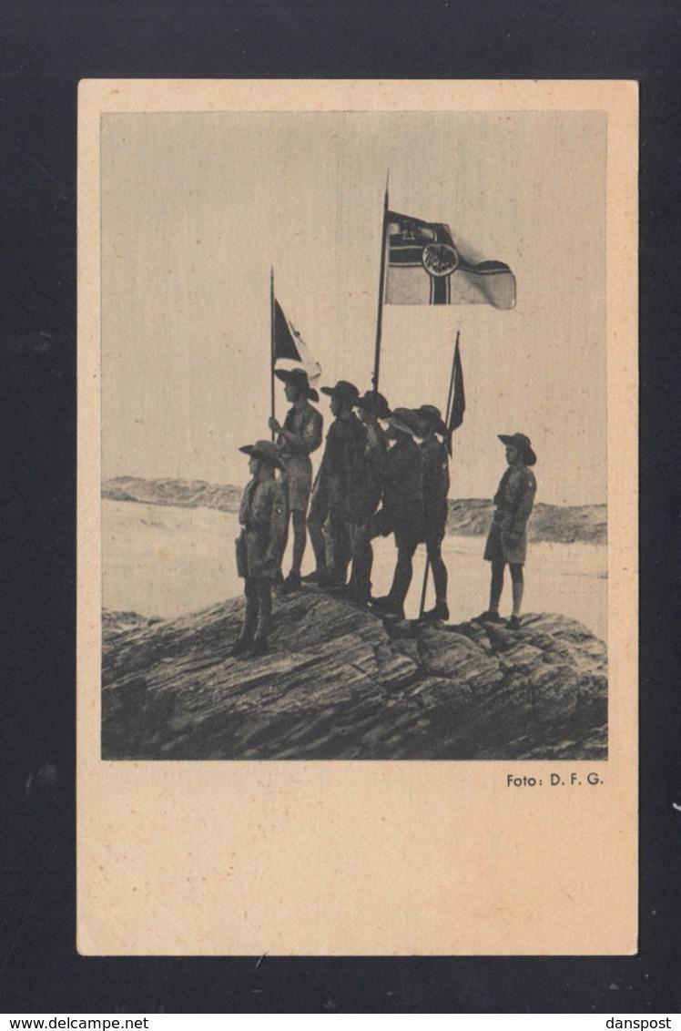 Dt. Reich AK Motiv Kolonien - Geschichte