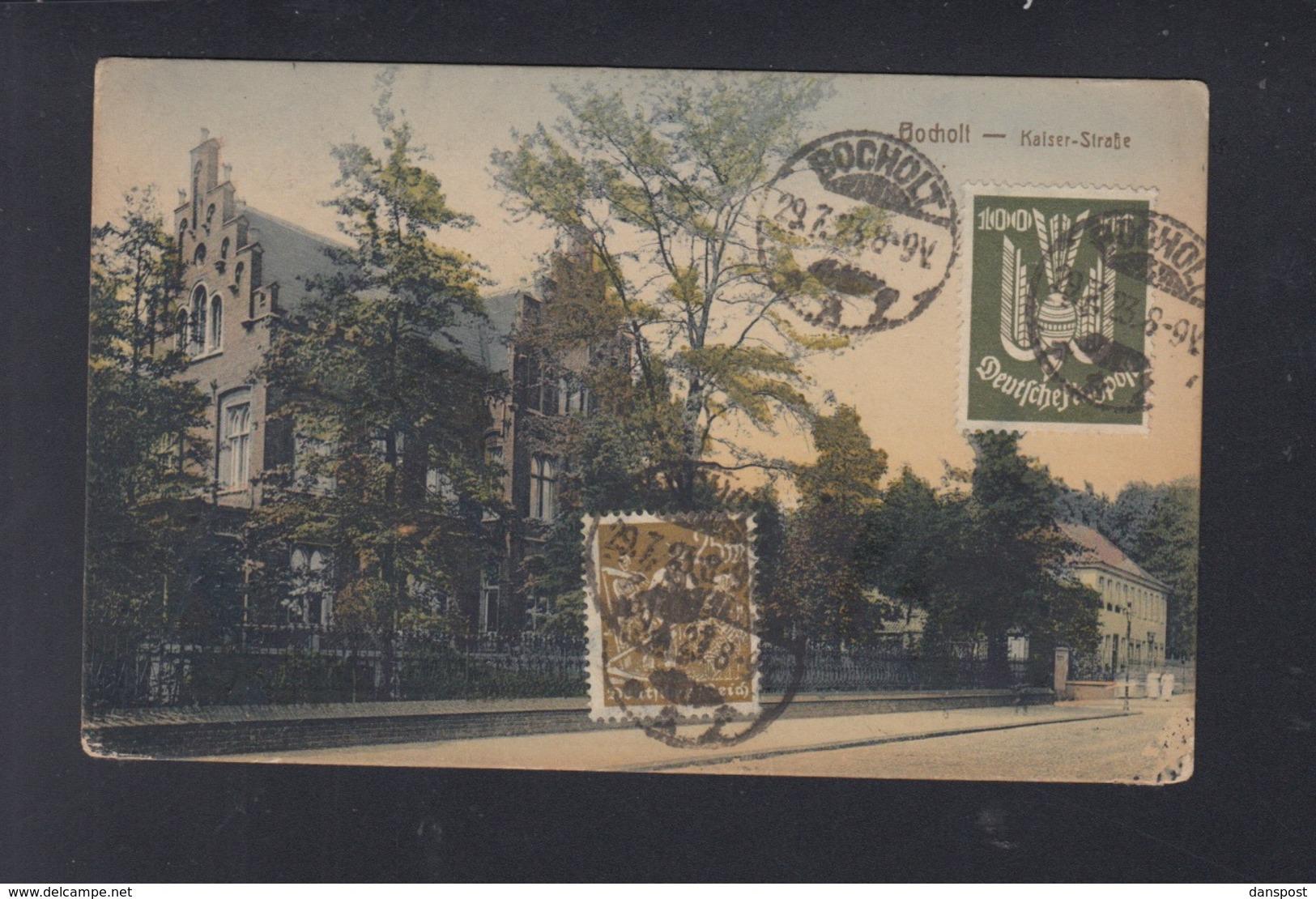 Dt. Reich AK Bocholt 1923 Nach Danzig - Duitsland