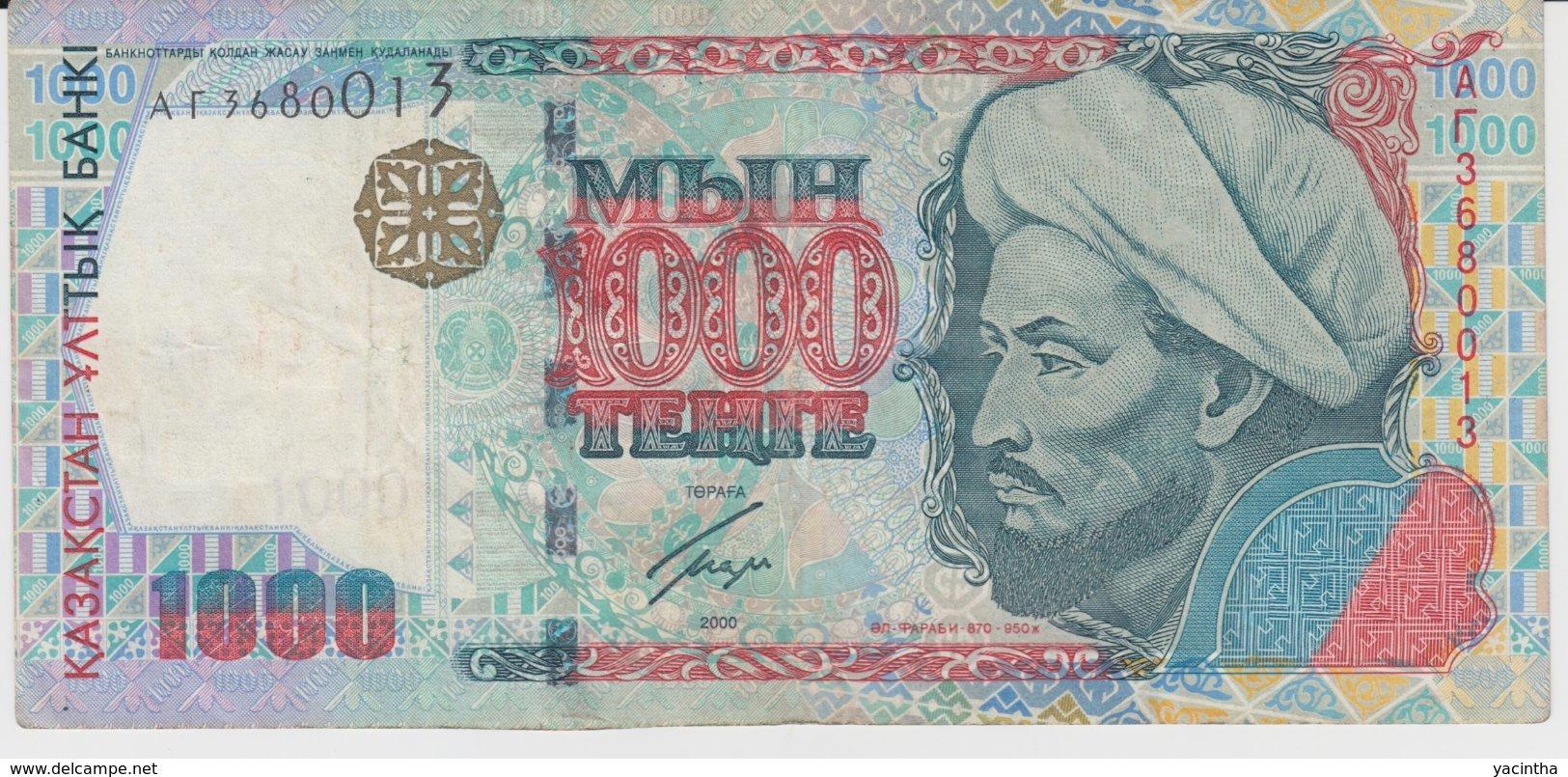@Y@ Kazachstan  1000  Tenge   AT3680013  Circulatie - Kazachstan
