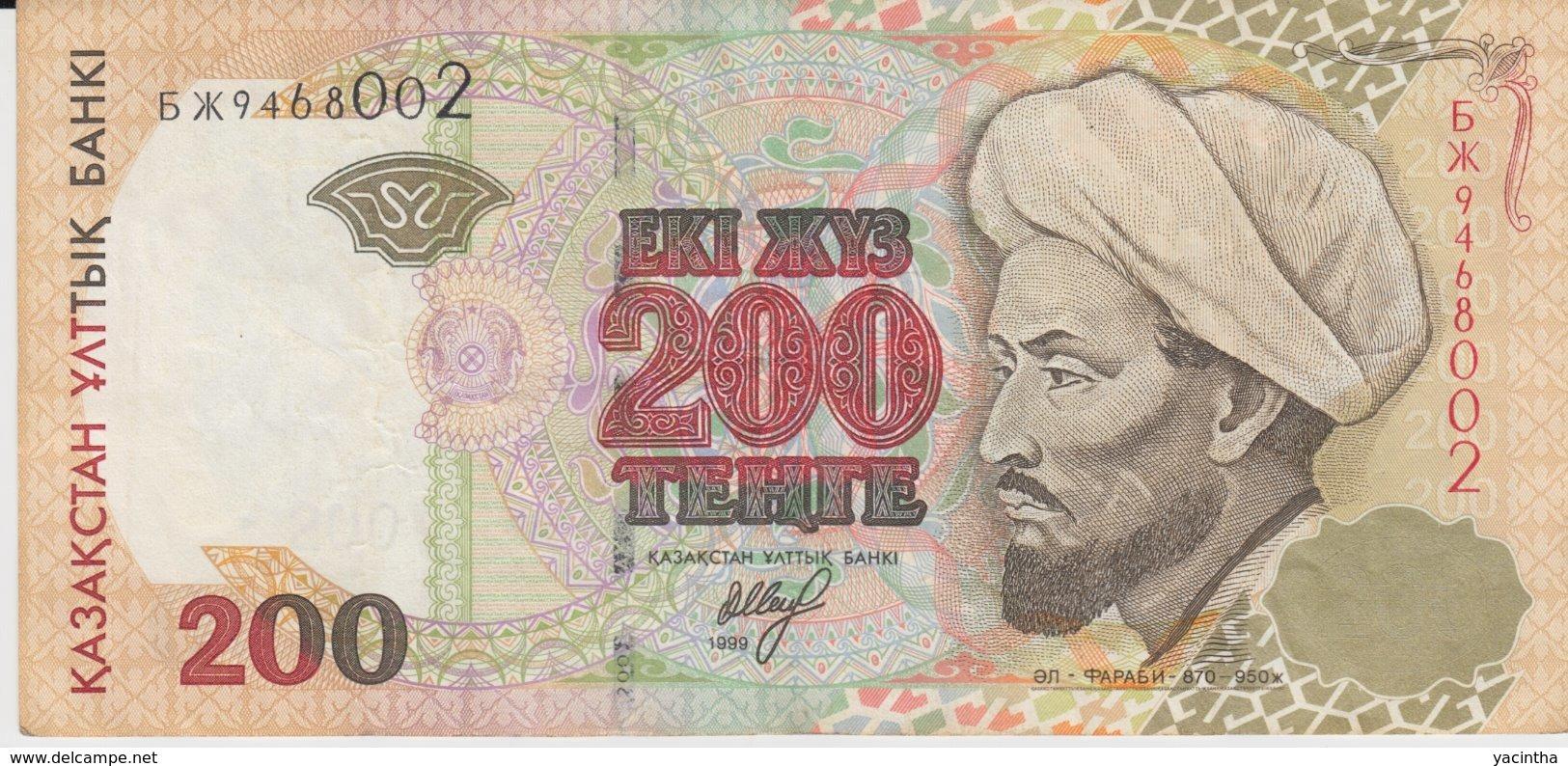 @Y@  Kazachstan  200  Tenge   * * 9468002  Circulatie - Kazachstan