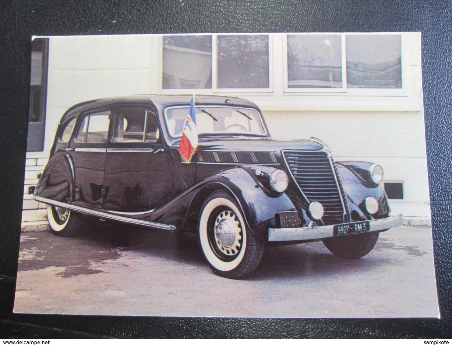 Carte Postale Voiture RENAULT Vivastella 1939 - Turismo