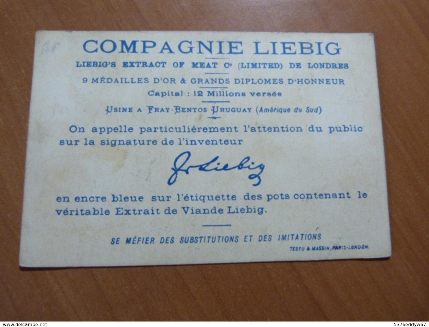 Chromo Liebig. Enfants Au Magasin; 7 X 10,5 Cm. En Bon état - Liebig