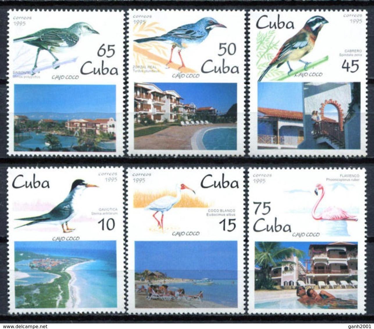 Cuba 1995 / Birds MNH Vögel Aves Oiseaux Uccelli / Cu6008  29-43 - Pájaros