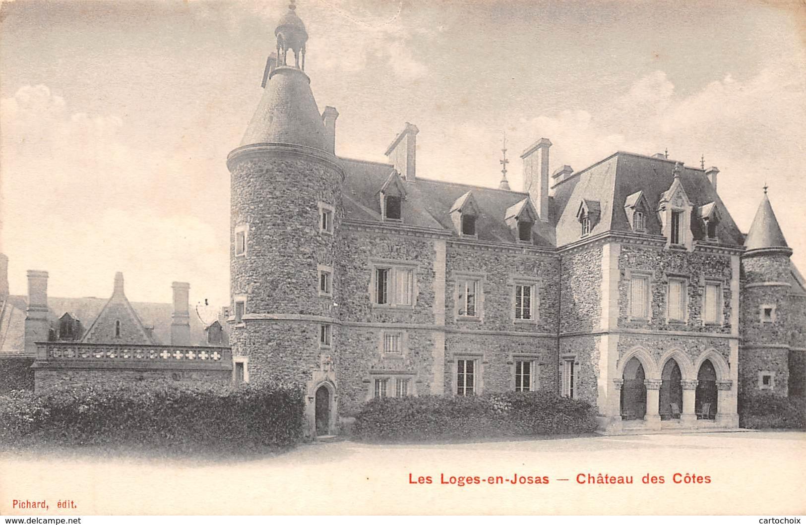 78 - Les Loges-en-Josas - Beau Cliché Du Château Des Côtes - France