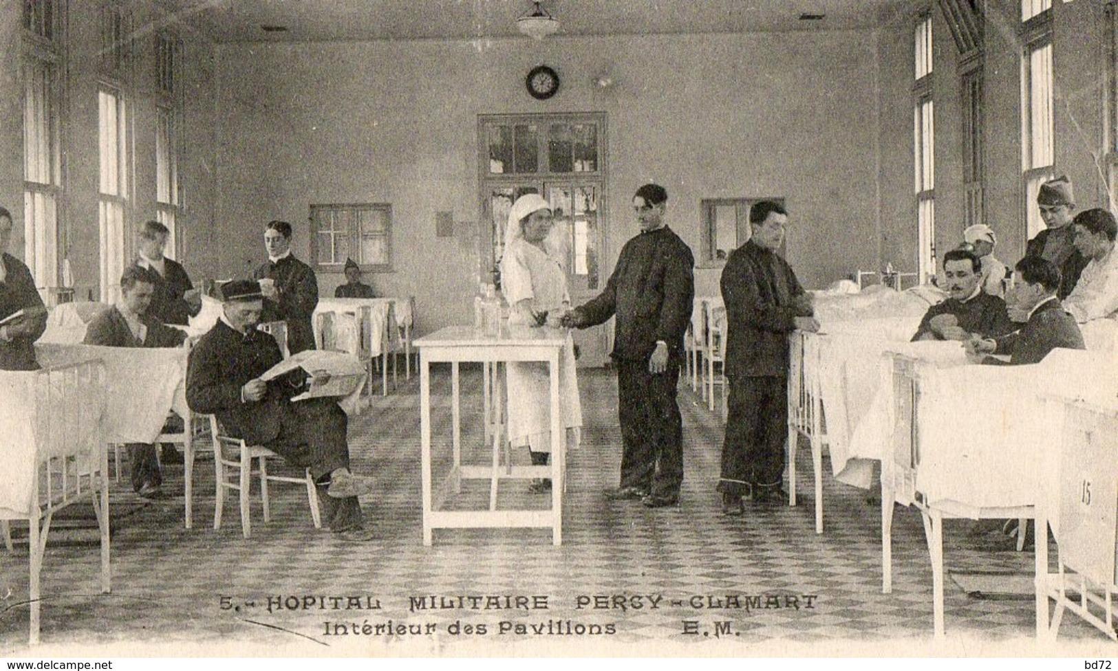 Hopital Militaire PERCY CLAMART - Intérieur Des Pavillons - Clamart