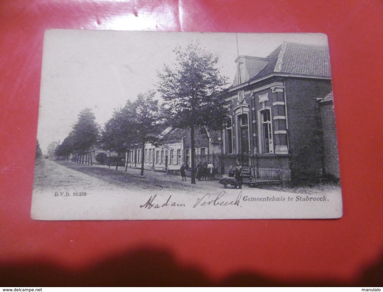 Gemeentehuis Te Stabroeck - Stabroek