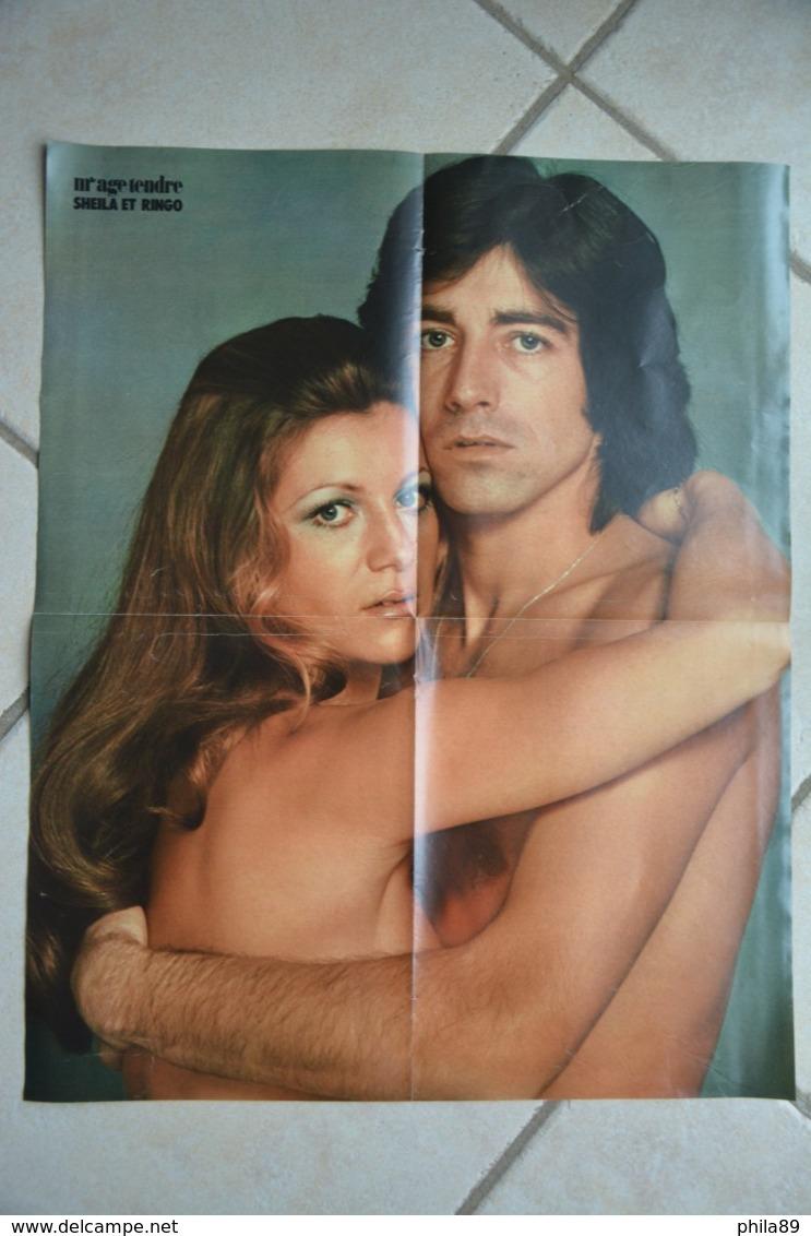 Poster De Mlle Age Tendre-SHEILA Et RINGO-(54 Cm Par 41 Cm) - Plakate & Poster