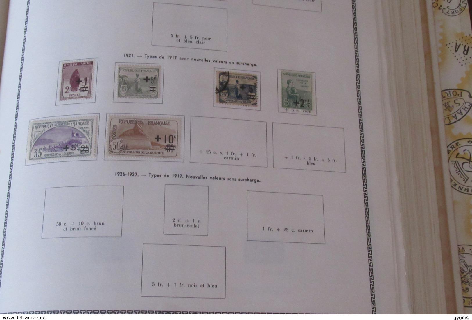 France 1849 - 1965  Lot Classiques ,  , Orphelins, Hommes Célèbres  Poste Aérienne 88 Scans - Timbres