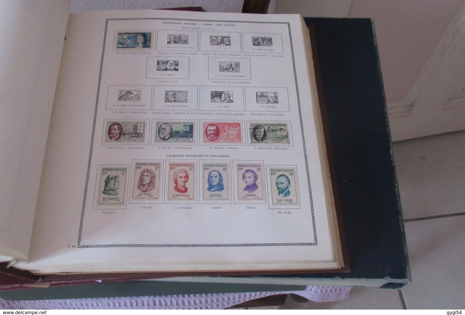 France 1849 - 1965  Lot Classiques ,  , Orphelins, Hommes Célèbres  Poste Aérienne 88 Scans - Collections (en Albums)