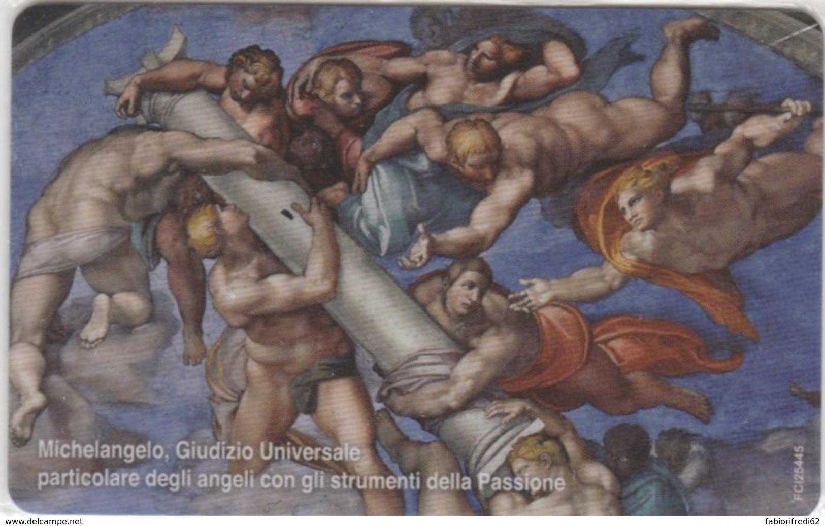 PHONE CARD VATICANO SCV208 GIUDIZIO UNIVERSALE (NEW BUT PRINTED WITHOUT BLISTER) - Vaticano