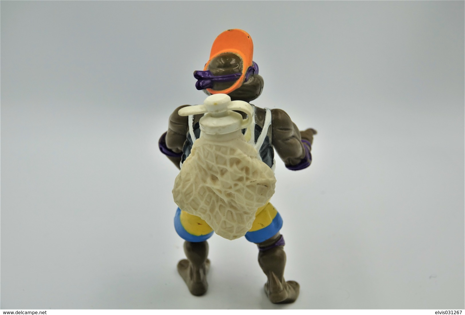 Vintage TEENAGE MUTANT NINJA TURTLE : Sewer Spitting Spike'n Volley Don Donatello -  Playmates - TNMT - 1992's - Figuur - Figurines