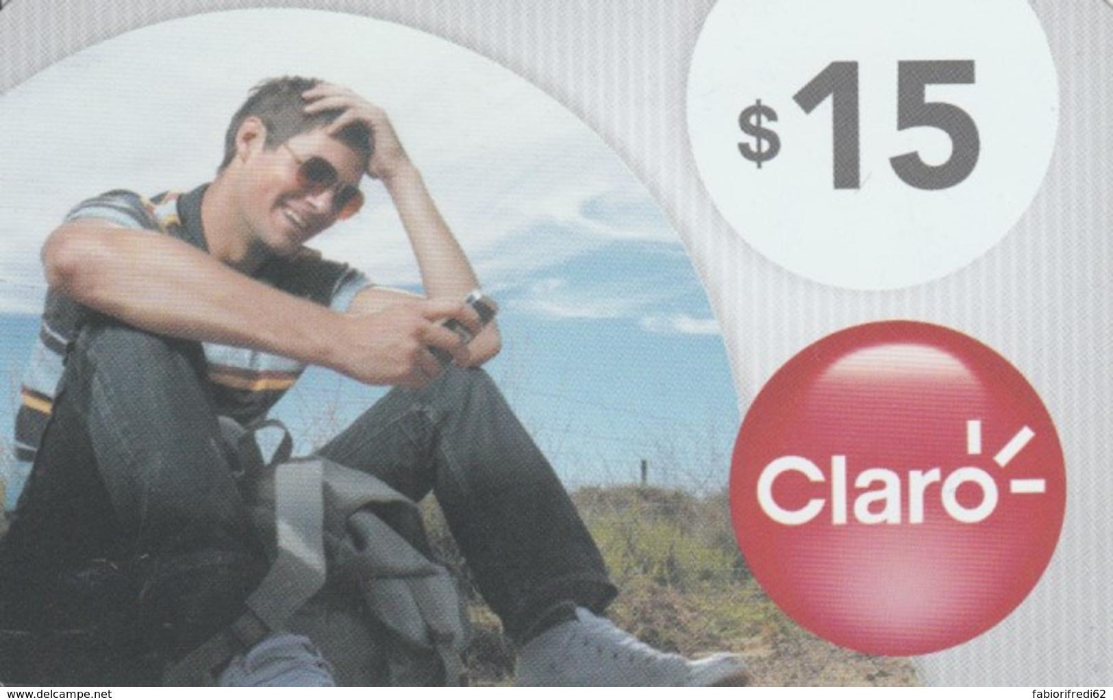 PREPAID PHONE CARD ARGENTINA-CLARO (PK125 - Argentina