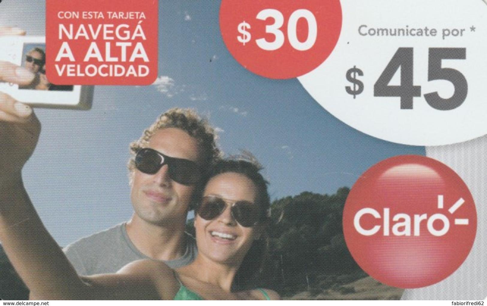 PREPAID PHONE CARD ARGENTINA-CLARO (PK127 - Argentina