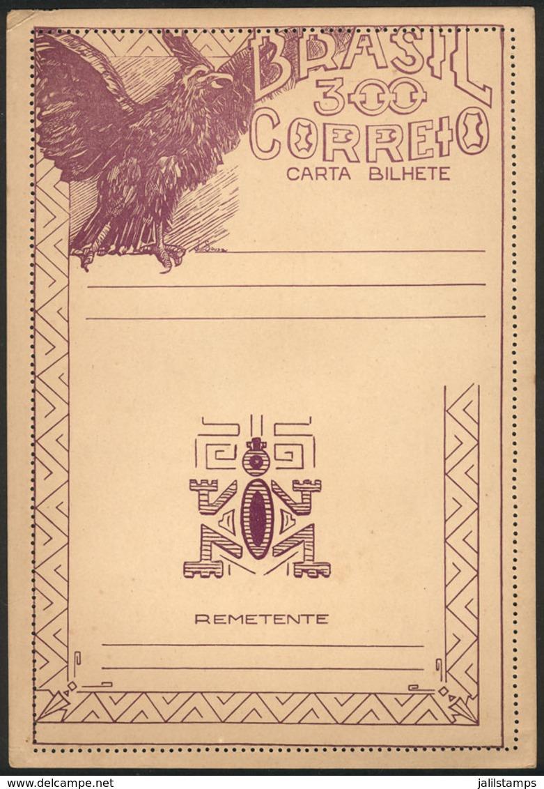 BRAZIL: RHM.CB-99, Unused Lettercard, Excellent Quality! - Enteros Postales