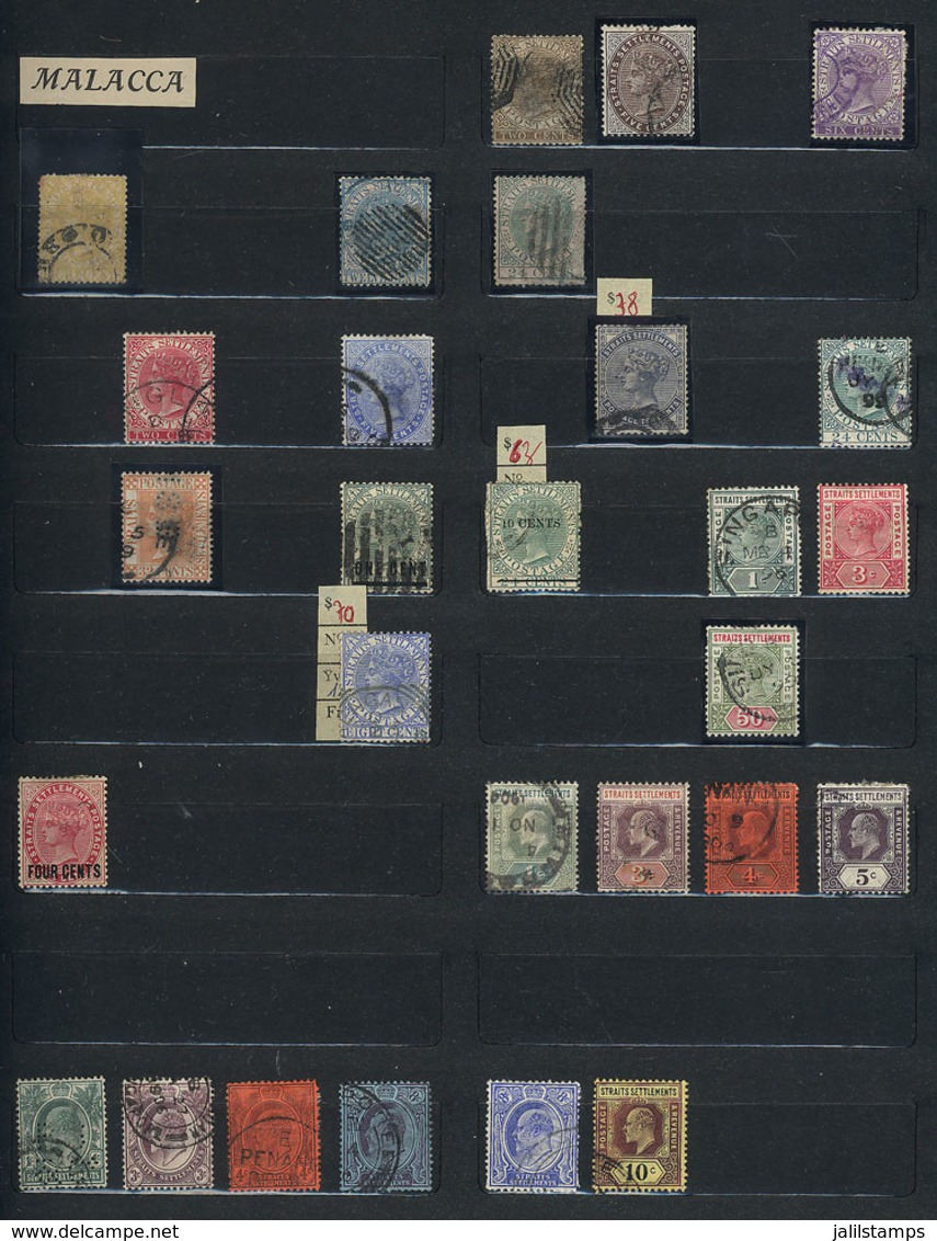 THAILAND + MALAYSIA + ASIA: Including Singapore, Malay States, Burma, Vietnam, Etc.: Collection In Stockbook, Including  - Thailand