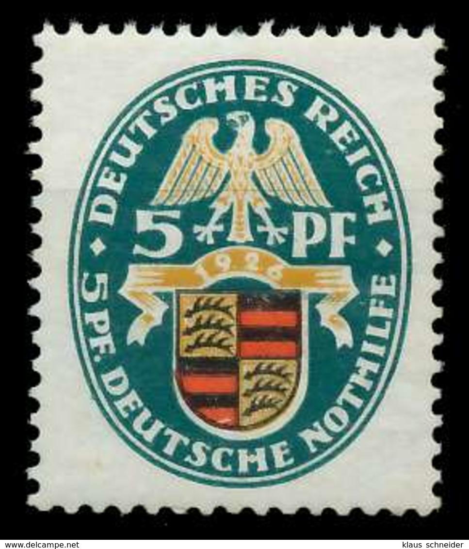 DEUTSCHES REICH 1926 Nr 398Y Ungebraucht X89C782 - Germania