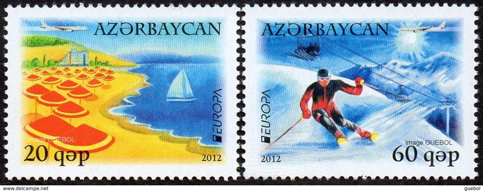 CEPT / Europa 2012 Azerbaïdjan N° 783 Et 784 ** Tourisme - Europa-CEPT