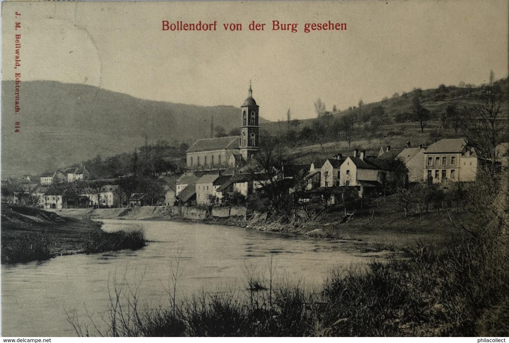 Bollendorf ( Luxembourg) Von Der Burg Gesehen 19?? - Andere