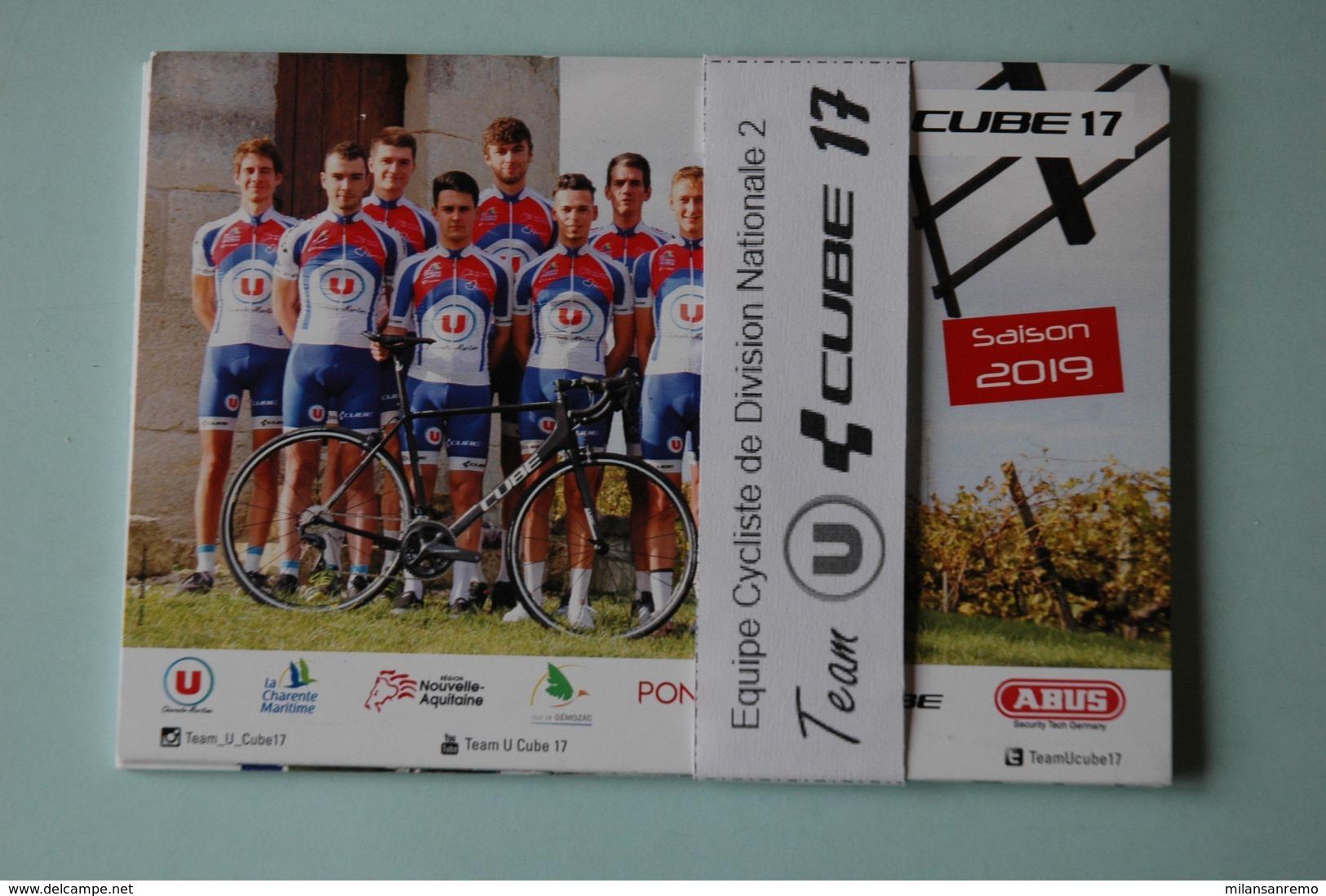 CYCLISME: CYCLISTE : EQUIPE TEAM CUBE U 17 2019 COMPLETE - Ciclismo