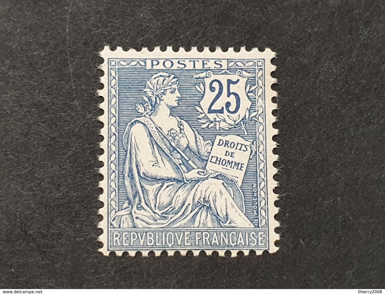 Mouchon N° 127  Neuf ** Gomme D'Origine  TB - 1900-02 Mouchon