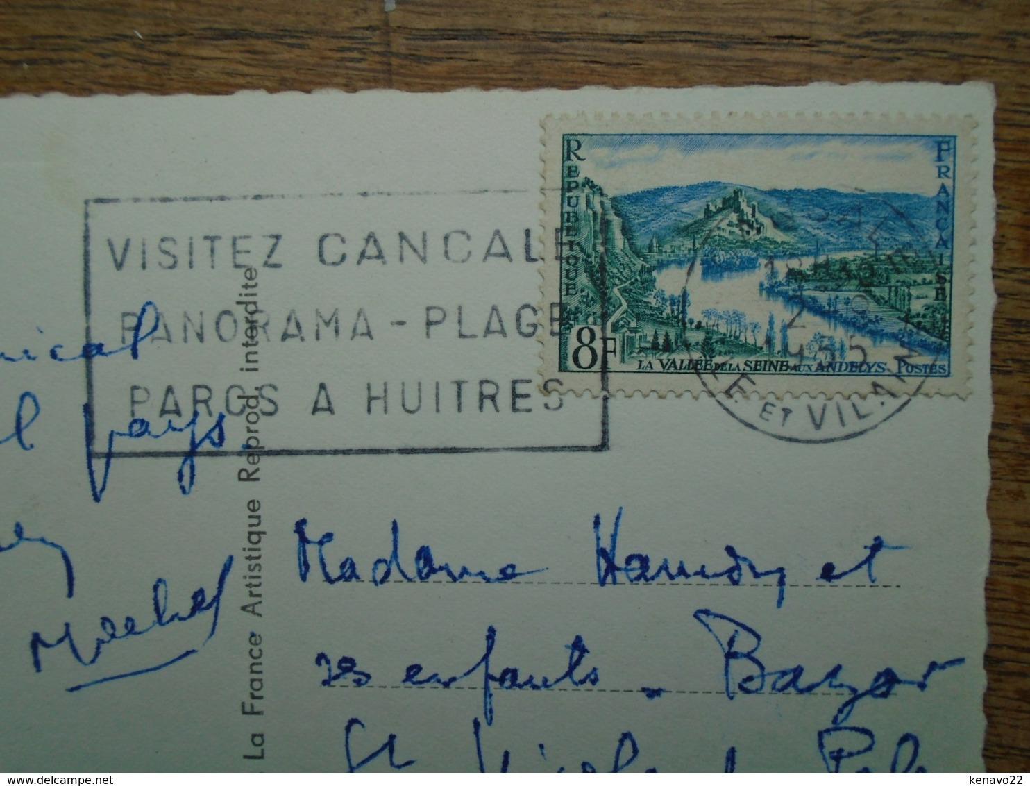 """Cancale , Bâteaux De Pêche """""""" Beaux Timbre Et Cachets """""""" - Cancale"""