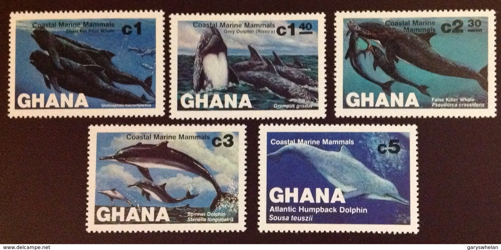 Ghana 1983 Marine Mammals MNH - Unclassified