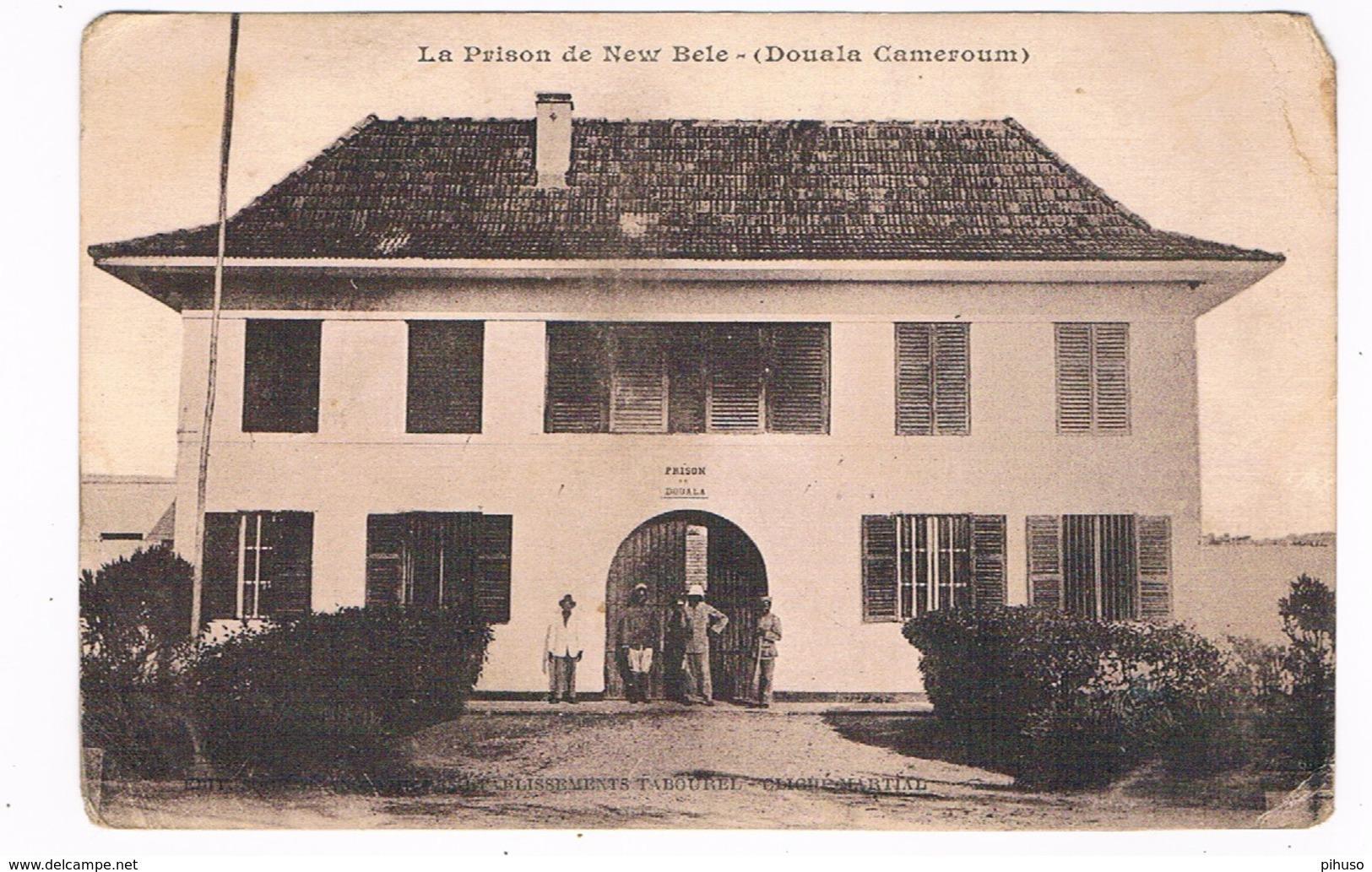 AFR-1255   DOUALA : La Prison De New Bele - Gevangenis