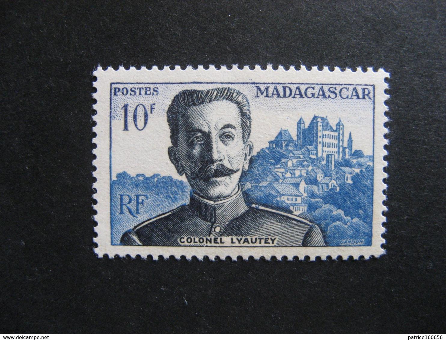 MADAGASCAR: TB  N° 325, Neuf XX. - Madagascar (1889-1960)